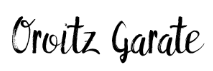 Oroitz Garate firma